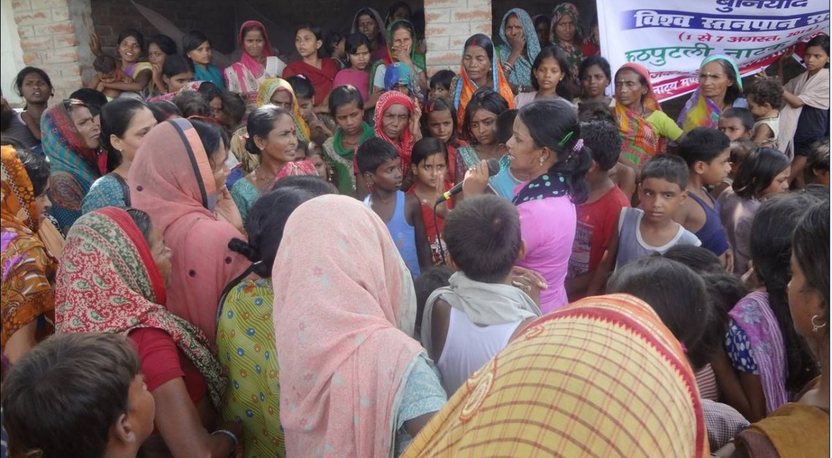 Counselling of mother during BF Week