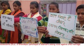 Rally against child marriage